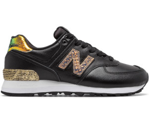 New Balance WL574 black/metallic gold (WL574NRH) ab 142,64 ...