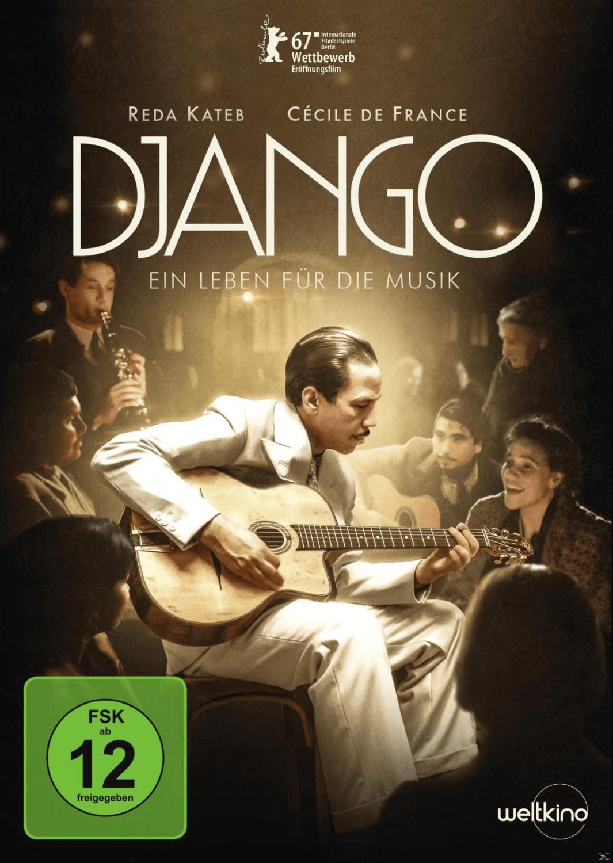 Django - Ein Leben für die Musik [DVD]