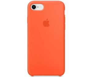 apple silicone case iphone 7 8 orange red au meilleur prix sur. Black Bedroom Furniture Sets. Home Design Ideas