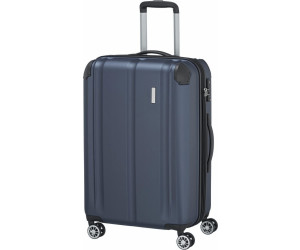 Trolley + Koffer City 4-Rad Trolley M exp Marine (78 Liter) Travelite 4J5Ps55G