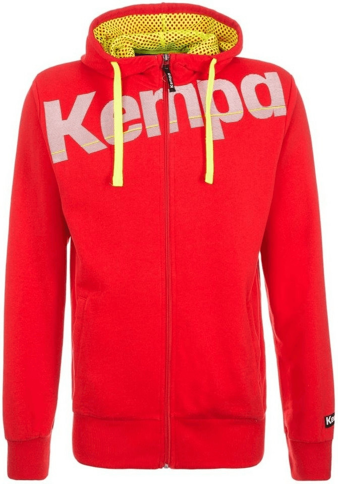 Kempa Core Kapuzenjacke Herren rot