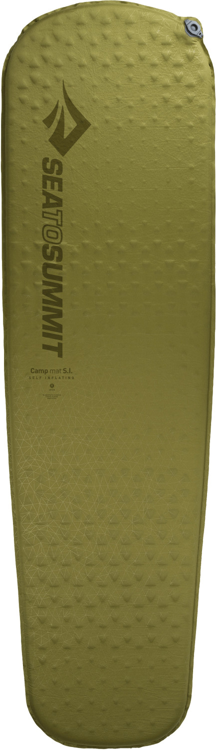 Sea to Summit CAMP Self Inflating Mat (Reg, mummy, olive)
