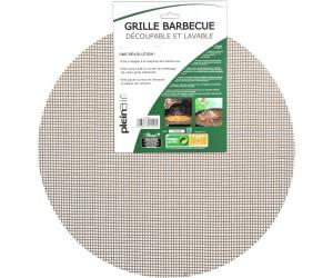 Grille ronde découpable et lavable pour barbecues et planchas