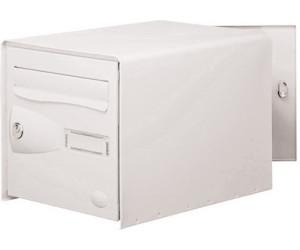 decayeux bo te aux lettres eolys double face blanc au. Black Bedroom Furniture Sets. Home Design Ideas