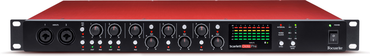 Image of Focusrite Scarlett Octopre