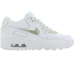 Nike Air Max 90 weiß gold
