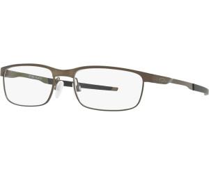 Oakley Herren Brille »STEEL PLATE OX3222«, schwarz, 322201 - schwarz