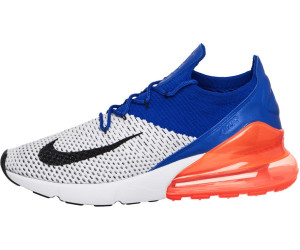 wholesale dealer a8868 39610 Nike Air Max 270 Flyknit. white black racer blue