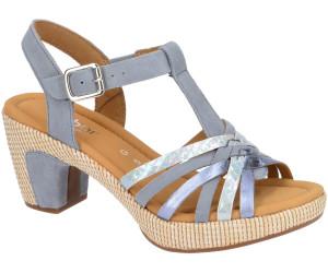 Billige Taupe Damen Schuhe Sandalette St.Tropez Gabor