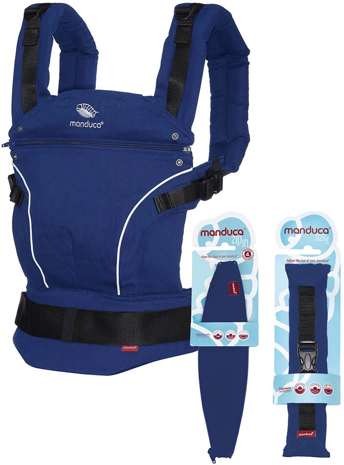 Manduca First PureCotton Premium Bundle - RoyalBlue
