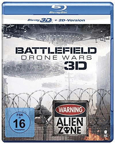 Battlefield - Drone Wars (3D) [Blu-Ray]
