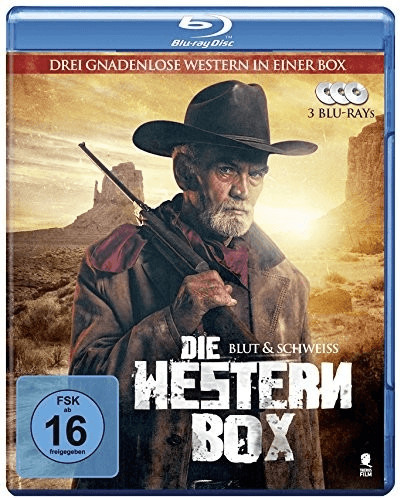 Die Western-Box - Blut & Schweiss [Blu-ray]