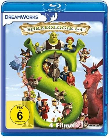 Shrekologie 1-4 (Shrek 1-4) [Blu-ray]