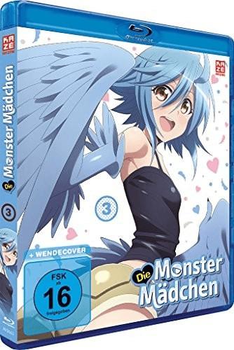 Die Monster Mädchen - Vol. 3 [Blu-ray]