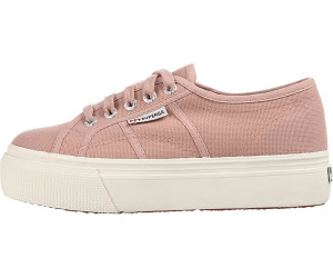 Superga 2790 Acotw Linea Up And Down ROSE Mahogany Plateau Scarpe Sneaker Rosa