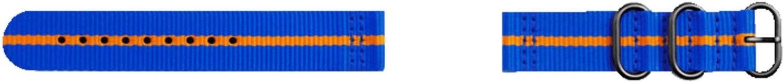 *Strap Studio Premium Nato blau/orange*