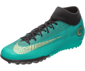 Buy Nike MercurialX Superfly TF VI Academy CR7 TF Superfly clear jade metallic   80f85d