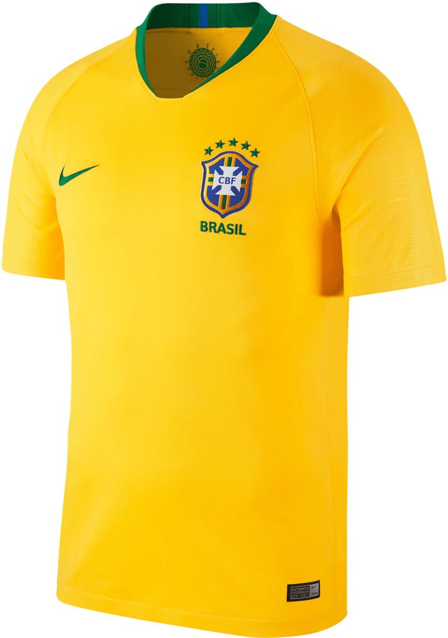 Nike Brasilien Home Trikot 2018