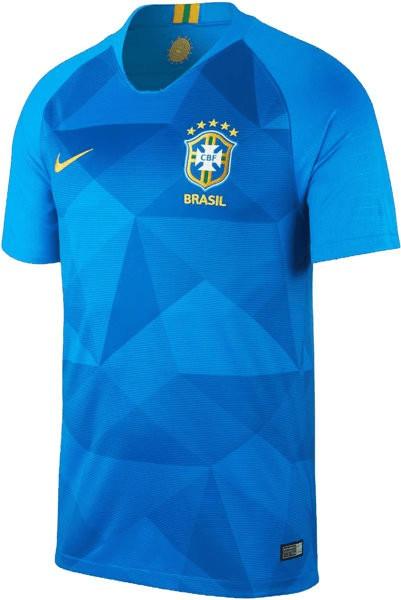Nike Brasilien Away Trikot 2018