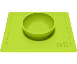 ezpz Happy Bowl rutschfeste Essmatte Limette