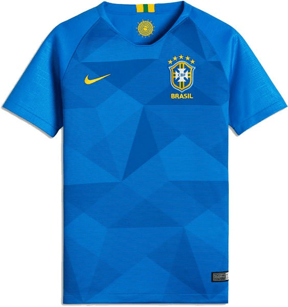 Nike Brasilien Away Trikot Kinder 2018