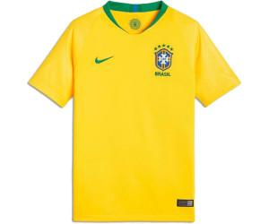 1899ed5785 Nike Maillot Brésil junior 2018 au meilleur prix sur idealo.fr