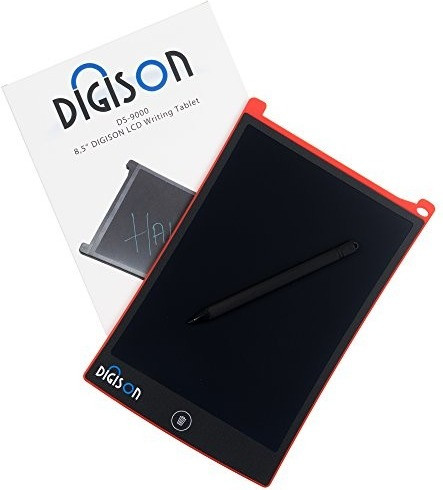 Image of Digison DS-9000 LCD 8,5 Zoll Writing Tablet red