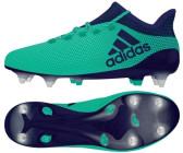adidas X 17.1 SG Herren Fußballschuhe Stollen Kickschuhe grün blau CP9172
