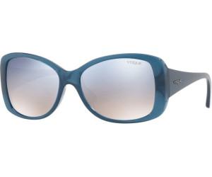 VOGUE Vogue Damen Sonnenbrille » VO2843S«, blau, 25347B - blau/silber