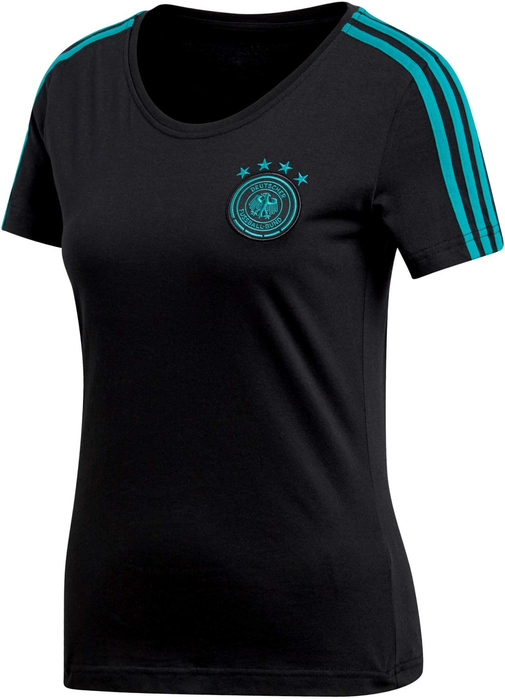 Adidas DFB T-Shirt Damen black/eqt green