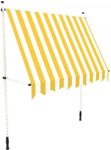 Paramondo JAM 295 x 150 cm weiß-gelb