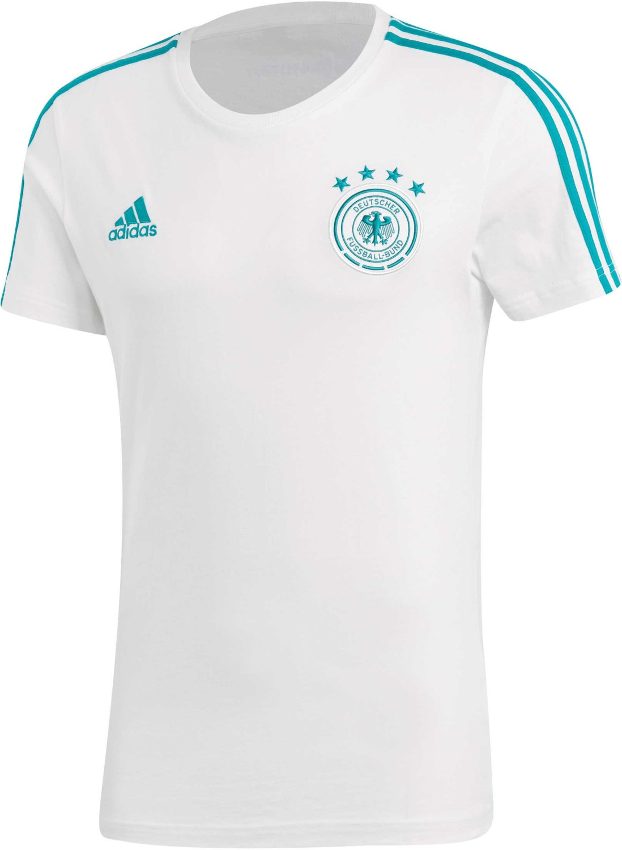 Adidas DFB 3S T-Shirt WM 2018 white/eqt green