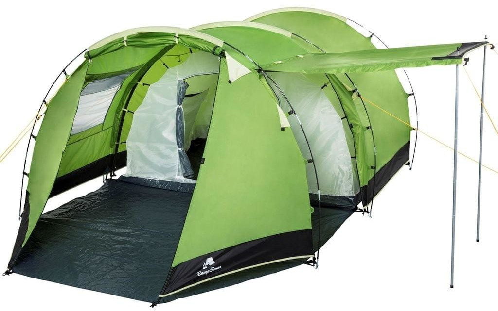 CampFeuer Tunnel Tent 4 (1018, green)