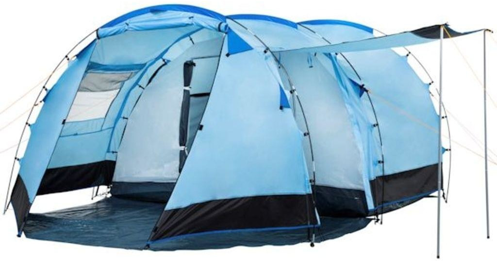 CampFeuer Tunnel Tent 4 (1018, blue)
