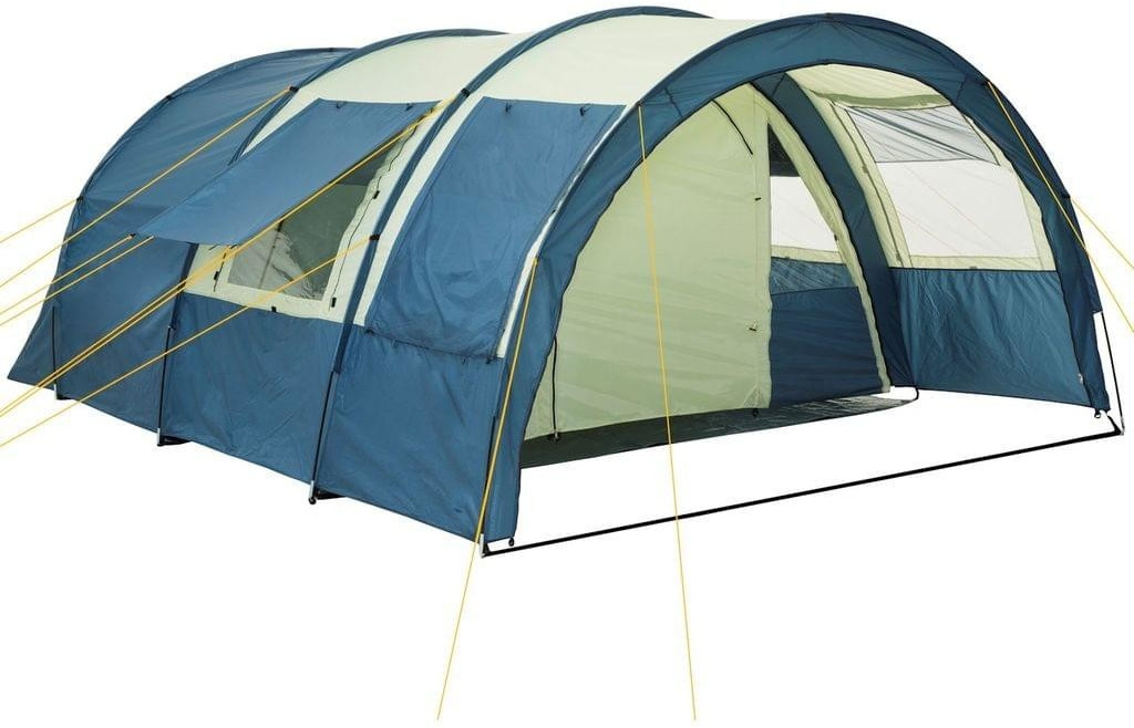 CampFeuer Tunnel Tent 4 (20_08, blue)