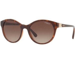 VOGUE Vogue Damen Sonnenbrille » VO5135SB«, schwarz, W44/87 - schwarz/grau