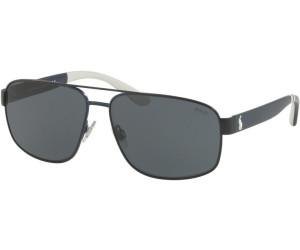 Polo Herren Sonnenbrille » PH3112«, grau, 91575A - grau/gold