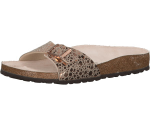 7be91632edcff3 Birkenstock Madrid Birko-Flor metallic stones copper ab 40