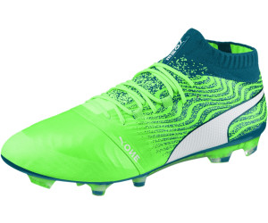 9c4af9f87 Buy Puma ONE 18.1 AG green/white/deep lagoon from £129.48 – Compare ...