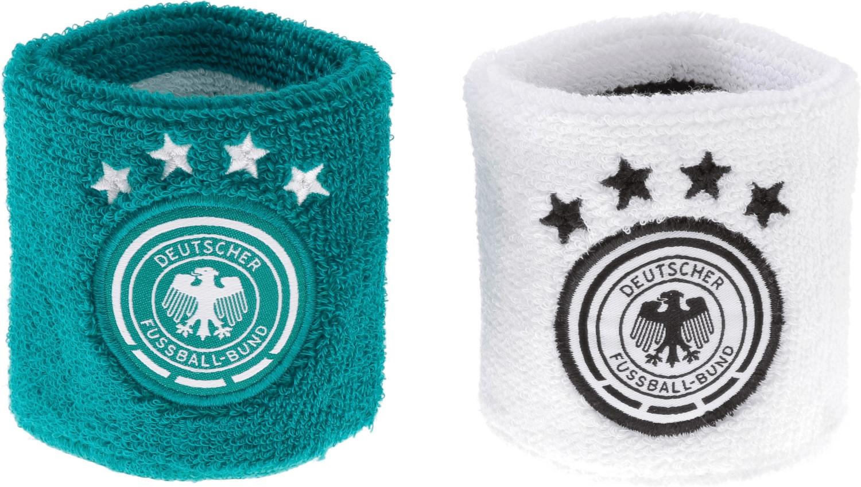 Adidas DFB Schweißband WM 2018 white eqt green/...