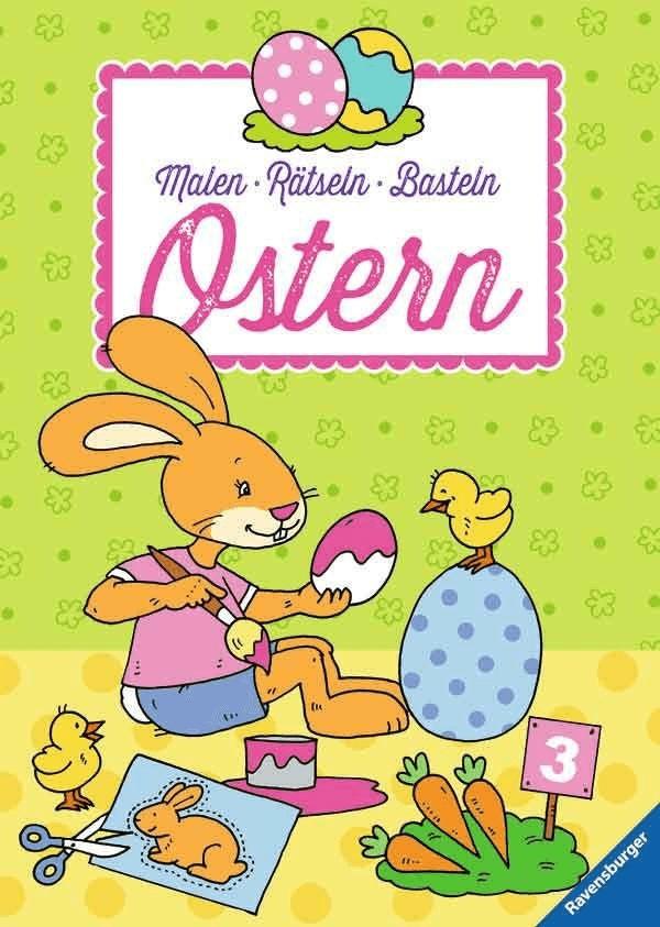 Ravensburger Malen - Rätseln - Basteln: Ostern