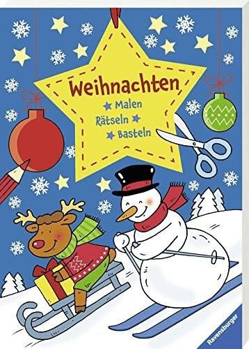 Ravensburger Malen - Rätseln - Basteln: Weihnac...