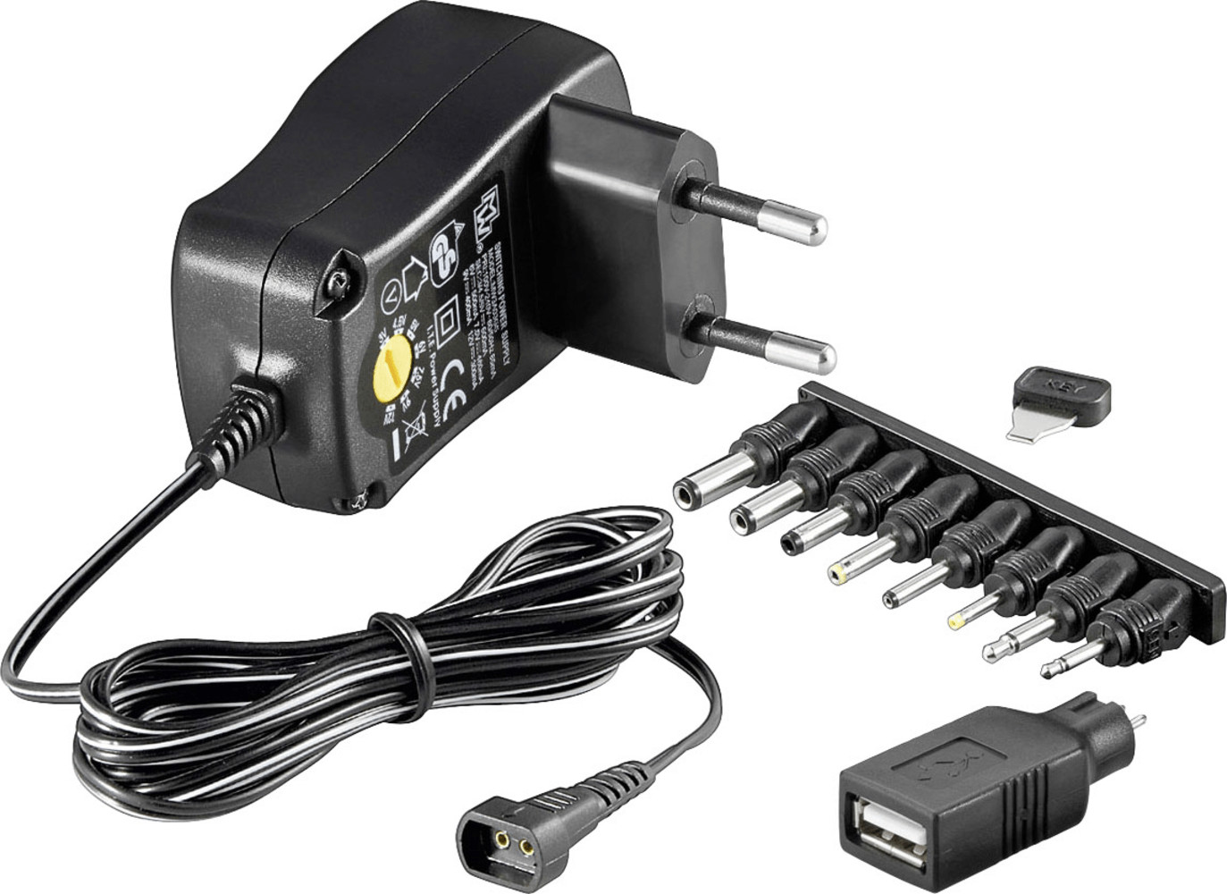 Image of Goobay 3-12V Universal-Charger