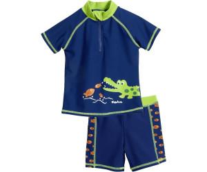 Playshoes Baby-Jungen Badehose Uv-Schutz Bade-Set Krokodil