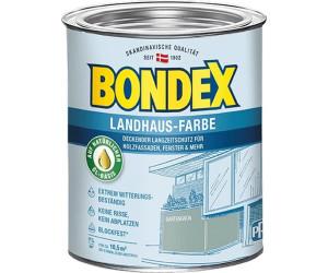 bondex landhaus farbe gartengr n 0 75 l 391300 ab 16 46 preisvergleich bei. Black Bedroom Furniture Sets. Home Design Ideas