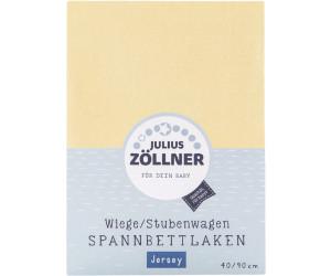 Julius zöllner wiege stubenwagen spannbettlaken jersey 90x40cm ab 3