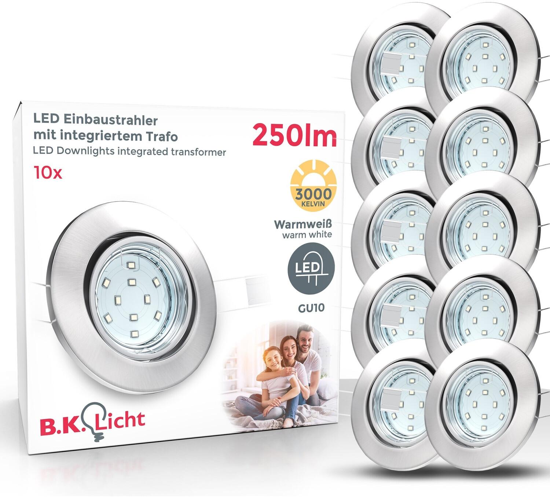 B.K. Licht LED 10 x 3W GU10 (10-02-10-S)