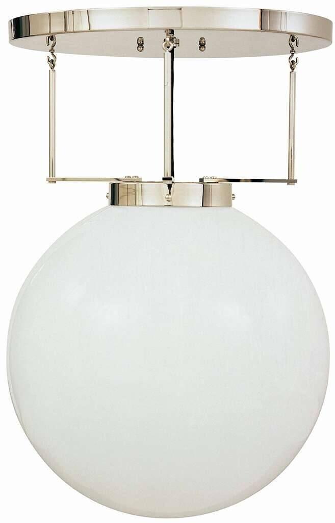 Tecnolumen DMB 26/250 opal weiß/Aufhängung Messing