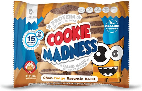 Madness Nutrition Cookie Madness Choc-Fudge Bro...