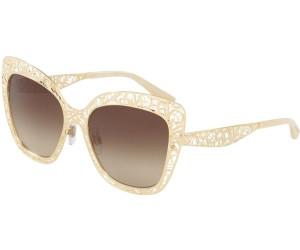 Dolce and Gabbana DG2164 Sonnenbrille Gold 02 / 13 56mm 1mrYubaj3w